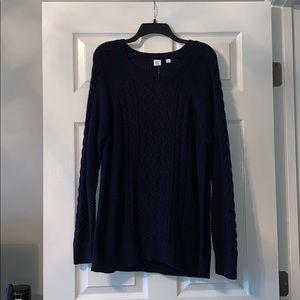 Navy Gap Knit Sweater
